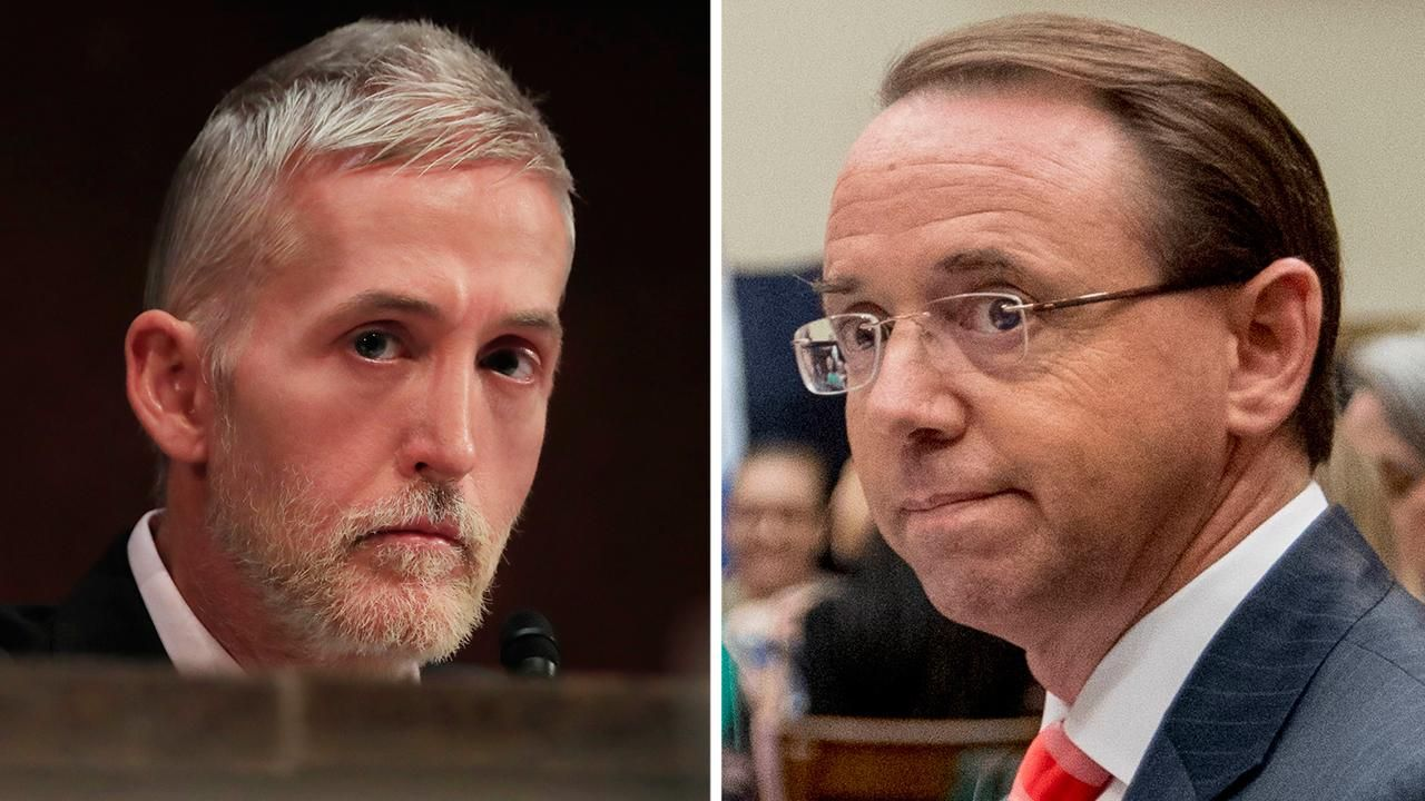 Gowdy rips Rosenstein on Russia probe: 'Finish it the hell up'