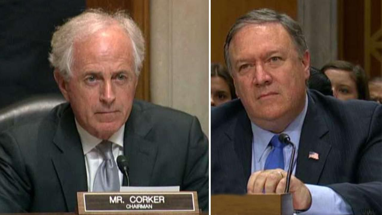 Pompeo fights back after GOP Sen. Corker hits Trump for 'purposeful' sowing of 'doubt and distrust'