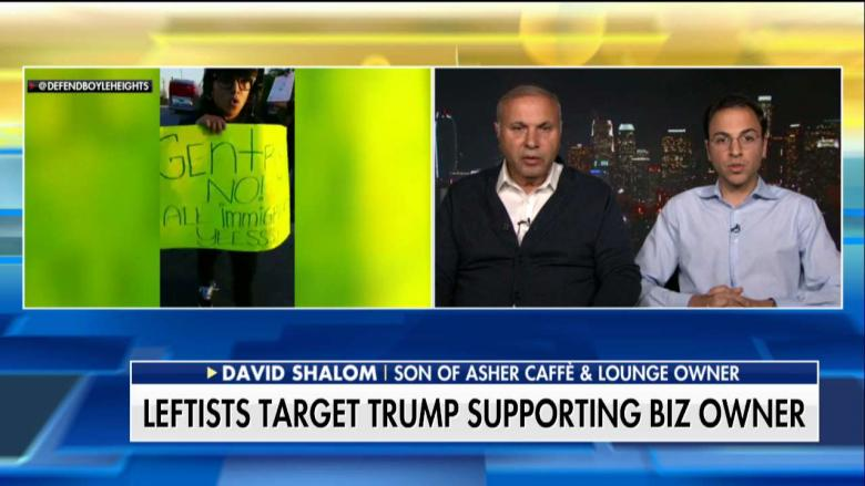 'It's a Shame': CA Anti-Trump Protesters Target Legal Immigrant's Cafe Over Trump Support