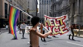 Philadelphia terminates ICE contract after a dozen activists storm city hall; DHS rips 'misguided' move