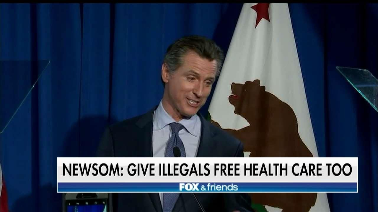 California craziness: Congress may have to stop state from giving 'free' health care to illegal immigrants