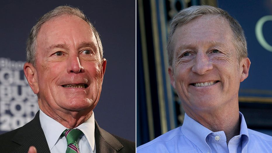 Liberal billionaires pour hundreds of millions into midterms hoping for Blue Wave
