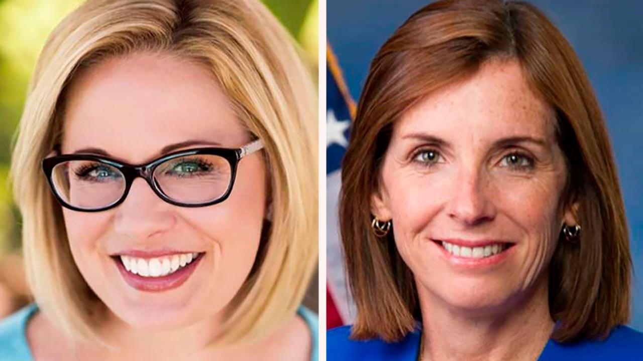 Sinema continues to lead McSally in Arizona Senate race as vote tally grinds on