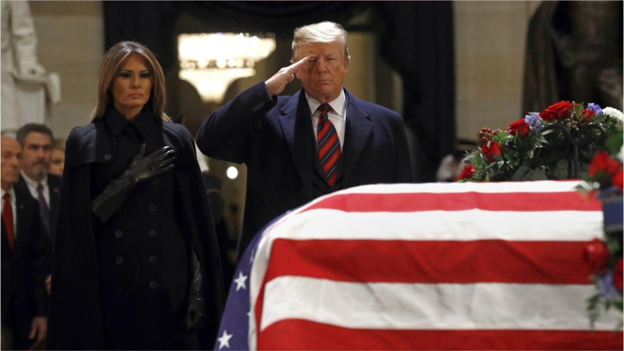 ABC News' imagining of President Trump's vision for his own funeral 'despicable garbage,' critic says