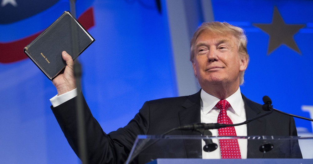 Trump backs push for Bible classes in schools