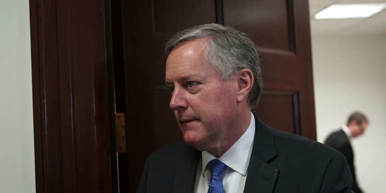 Meadows Claims Ambassadors Worked With DOJ Against Trump