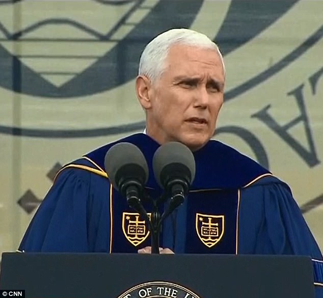 Students, alumni outraged, 'shaking' after Vice President Pence invited to give commencement
