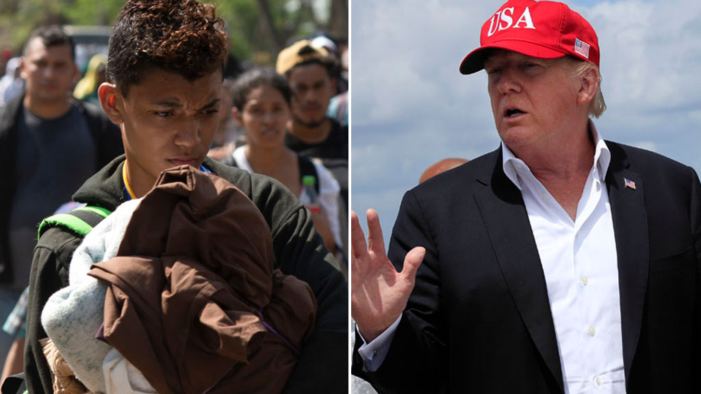 Trump cuts aid to Central American countries as migrant crisis deepens