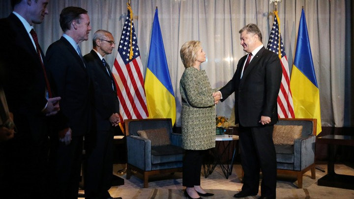 Ukraine embassy says DNC operative reached out for dirt on Trump in 2016