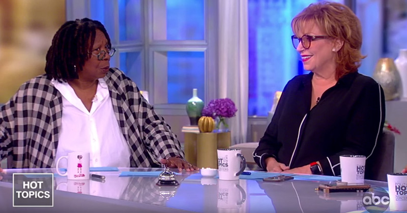 """The View's Joy Behar: """"Outrageous & Stupid to Call Black Person Racist"""""""