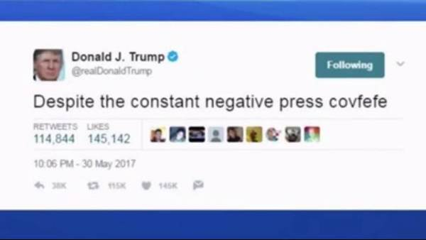 UNREAL: Google Buried True Meaning of Covfefe [I Will Stand Up] Once President Trump Tweeted It!!!