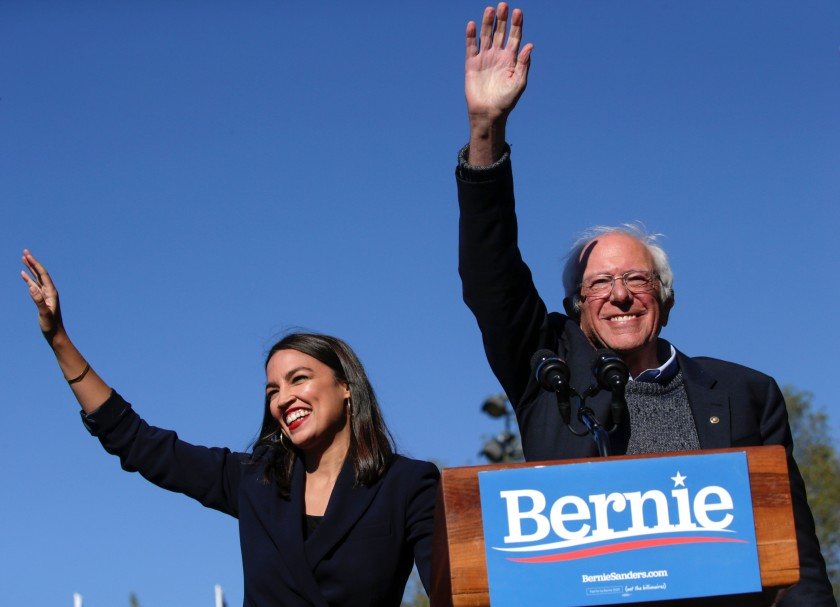 Sanders New York rally marks largest of primary campaign