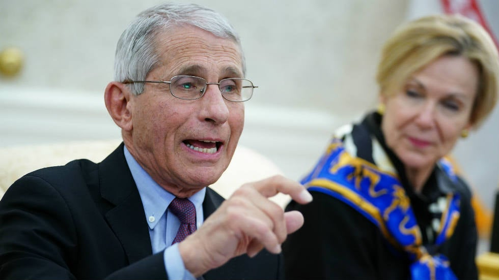 Fauci changes. Now 'totally in favor' of reopening country