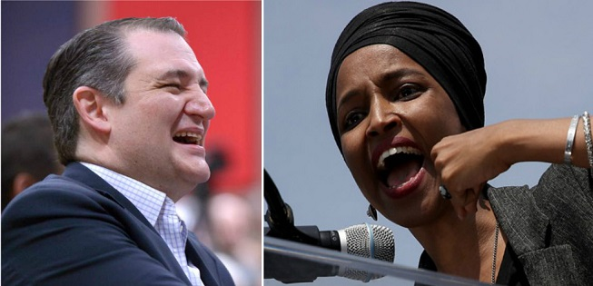 Ted Cruz Humiliates Ilhan Omar For Siding With Rioters Destroying Columbus Statue in Minnesota