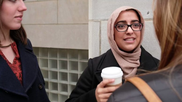 Muslim Democrat Political Candidate Says She's Been Watching Video of Assault of Federal Officer on Repeat, Laughing Non-Stop