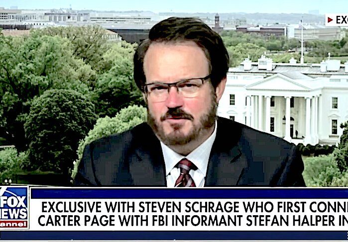 Former US Official Threatens To Blow Up 'Spygate'….Says He Has Proof that Cambridge was a Main Player in Spygate