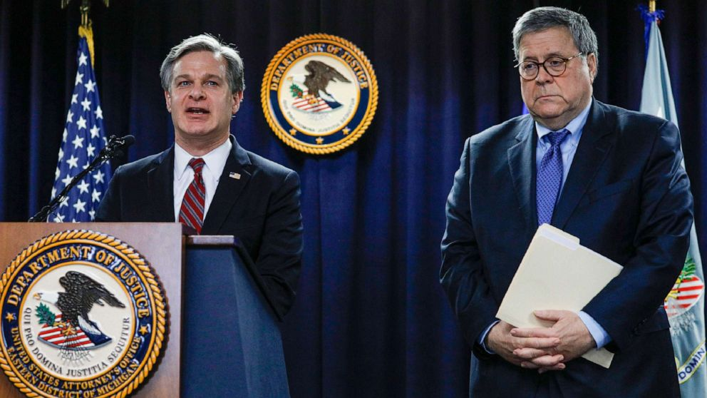 """Barr and Wray Announce FISA Reforms """"Americans must have Confidence in US Government"""""""