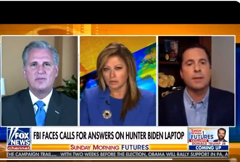 """Boom! Nunes Drops the Bomb that Shatters the Entire Russian Hoax, """"There are prostitutes and Russia money- It is with the Biden family"""" Pee Tapes cited"""