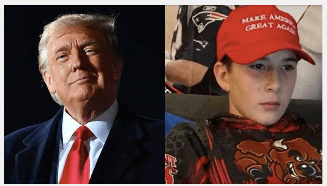 MAGA Boy, 12, Speaks Up For President Trump In Class. His Radical Teacher Asks Him Why He Supports 'A Racist And A Pedophile.'