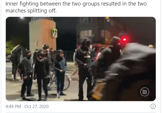 A Portrait Of Lawlessness, Philadelphia! Knife-Wielding Man Killed Chasing Police. Massive Looting, BLM, And ANTIFA Argue Over Who Should Lead The Protest.