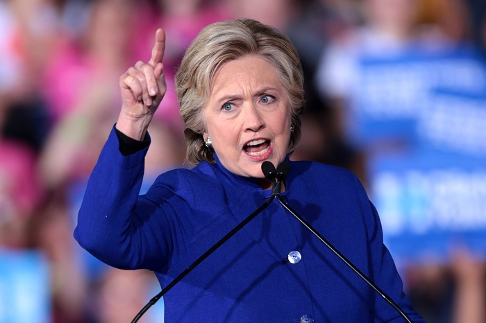 Still Bitter, Hillary Clinton Says It Makes Her 'sick to my stomach to think that we'd have four more years' of Trump