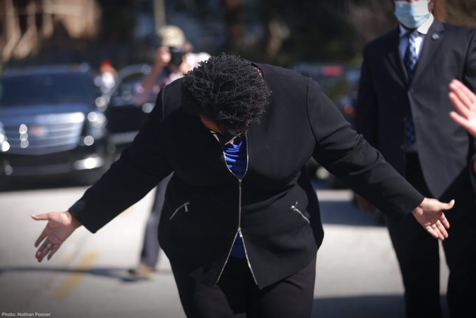 Trump Tweets: Abrams and Her Supporters are Blocking His Attempts to Validate Ballots, Has the GAGOP Gone to the Marxists?