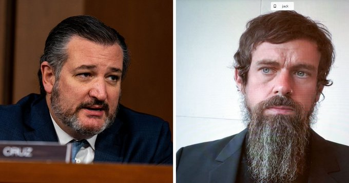 Ted Cruz Pushed Jack Dorsey About Censoring Political Speech at Senate Hearing