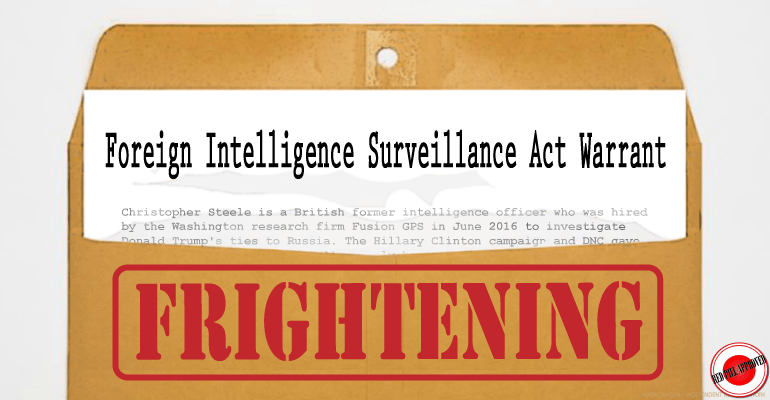 After 4 Years Dems Concede No Basis For FISA Warrants