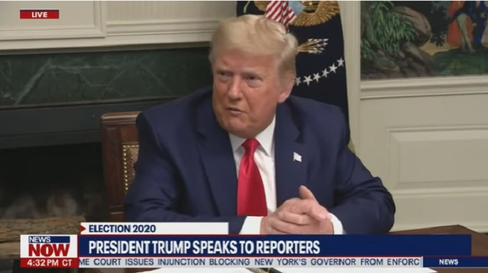 Trump Slaps Media Hack For Asking Irresponsible Question to the President of the United States [video]