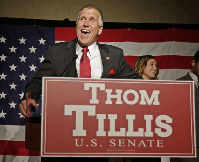 Republican Sen. Thom Tillis Wants To Make Livestreamers Felons, Bill Added to 'Stimulus' for Americans to Protect Copyright Material