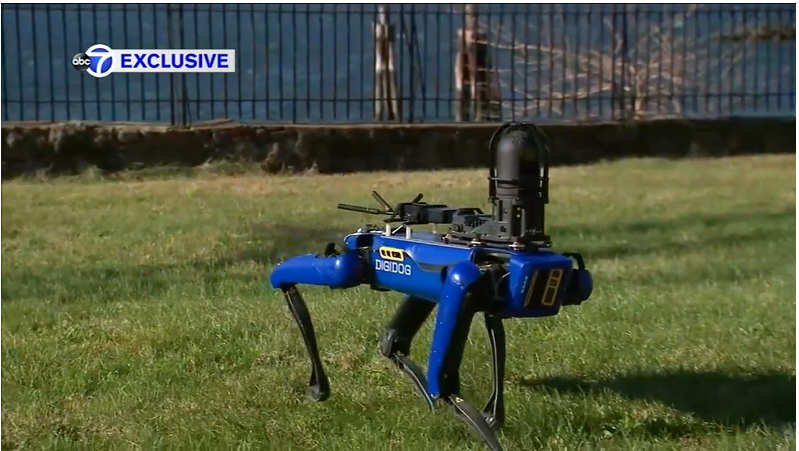 Ready For Terminator Dogs? NYPD Joins Other Police Forces In The USA, Now Deploying Robotic Dog (Digidog)