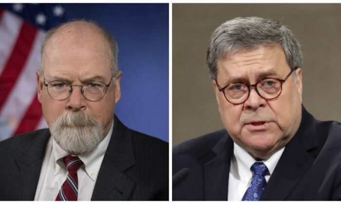 Report: John Durham Is Expanding Team Investigation Trump-Russia Probe, Making 'Excellent Progress'