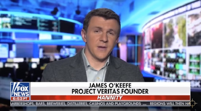 Project Veritas' James O'Keefe Reveals How CNN Blocked The NY Post's Hunter Biden Story [VIDEO]