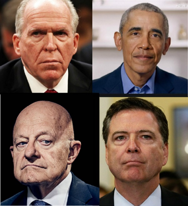 Newly Declassified Brennan Handwritten Notes Reveal Obama Intel Community Knew All Along Hillary Clinton Created Russian Collusion Narrative