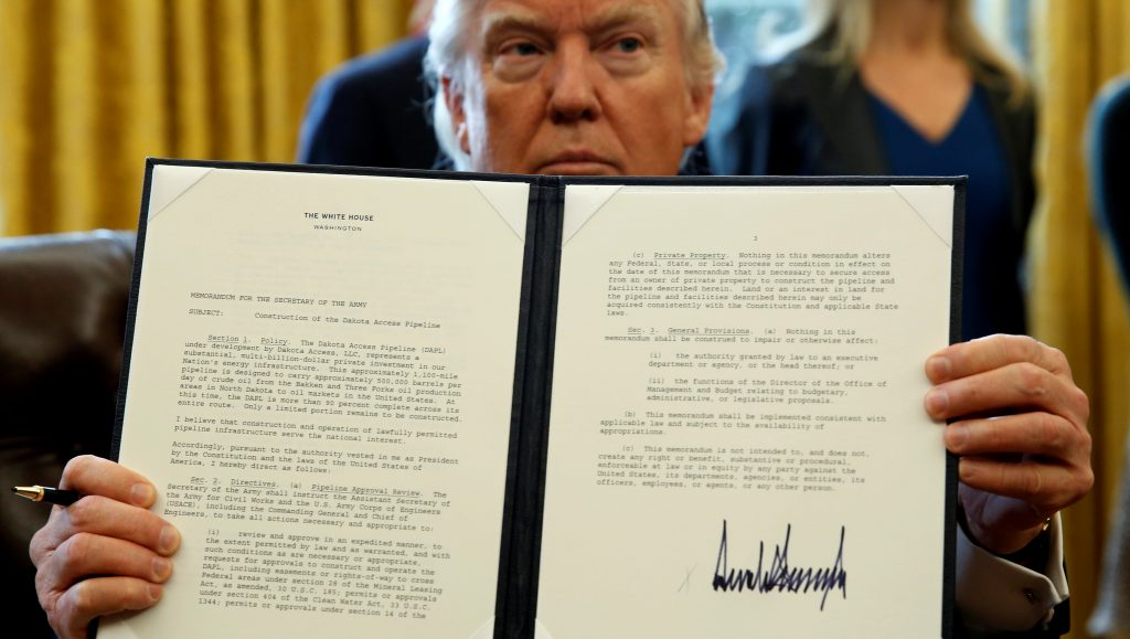 Numerous Points of Data Point Back to President Trump's 2018 Executive Order on Elections