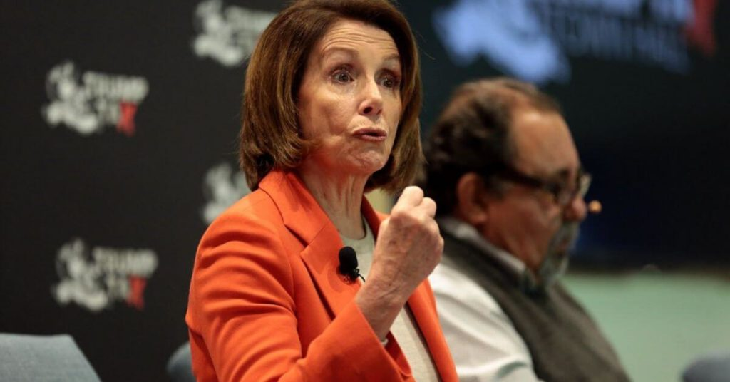 """Nancy Pelosi Says She Plans to Assault President Trump, """"I plan to pull him out of there by his hair."""""""
