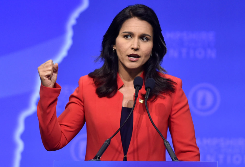 Tulsi Gabbard Challenges Nancy Pelosi for 'Enemy is Within the House' Rhetoric: 'Like Throwing a Match Into a Tinderbox'
