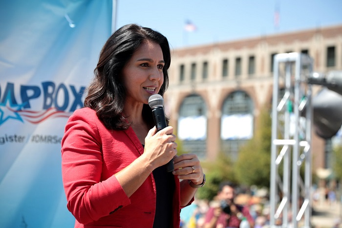 Former Democrat Rep. Tulsi Gabbard Said What Democrats and Big Tech Are Doing To Constitutional Rights Is Worse Than Capitol Rioters
