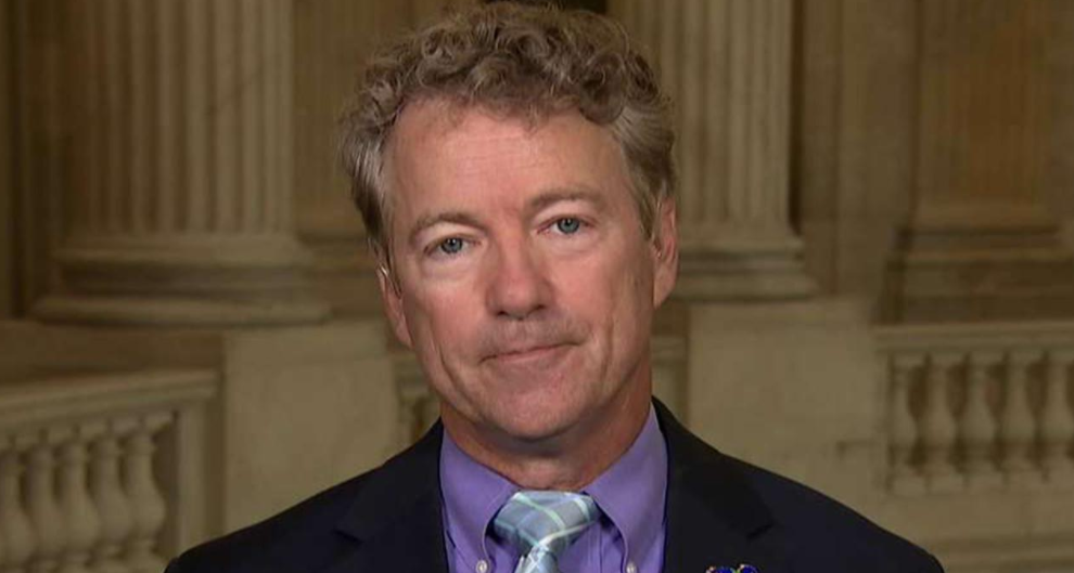Rand Paul Turns the Tables on Chuck Schumer, Demands His Impeachment By Applying Standard Dems Use Against Trump