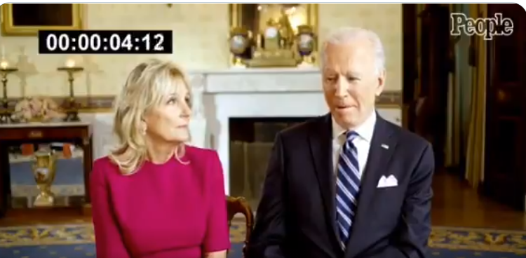 'Not To Be Shown To The Public': Leaked Footage of Bidens At White House Is Alarming