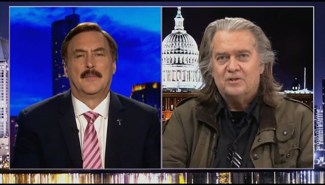 Bannon Deconstructs 'Absolute Proof' With Lindell and Presses Him on More Evidence