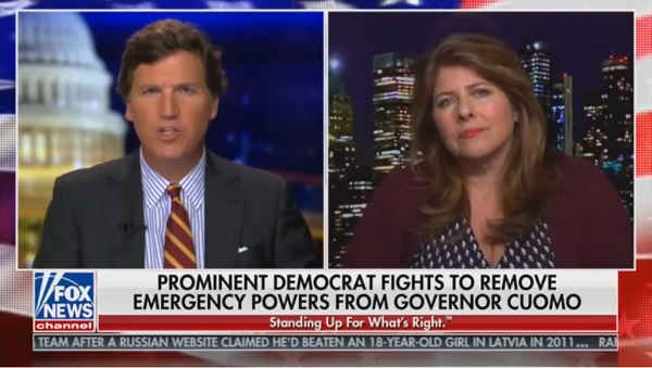 Feminist Author Naomi Wolf Tells Tucker Carlson US Turning Into a 'Totalitarian State Before Our Eyes' [VIDEO]