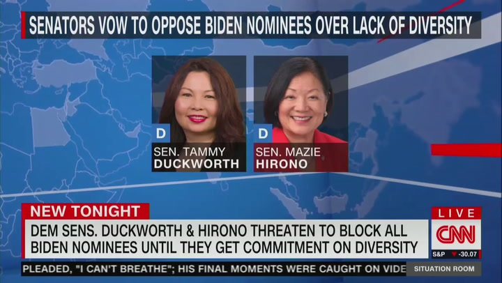 The Great Awokening: Reports Show Two Senators Said They Would Not Vote For Biden's White Candidates Unless They Are LGBTQ