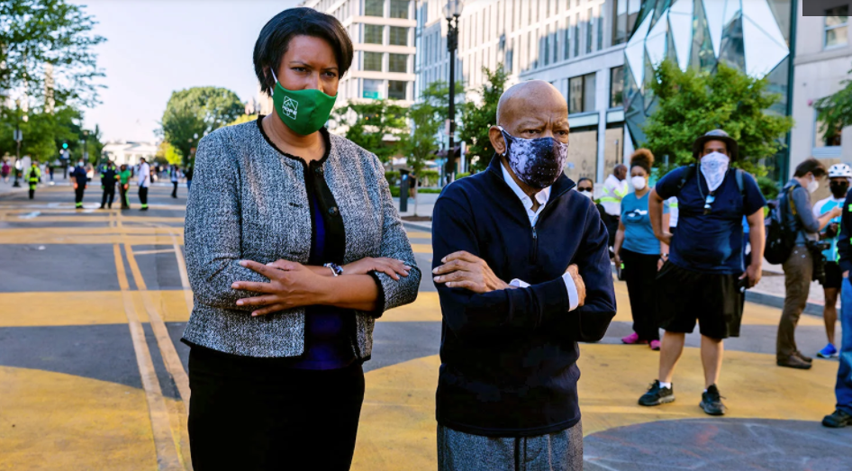 IS THIS BLM BIAS? DC Mayor Bowser Deleted Offensive Tweet About Carjacking And Refuses To Speak Out Against Death or Crime
