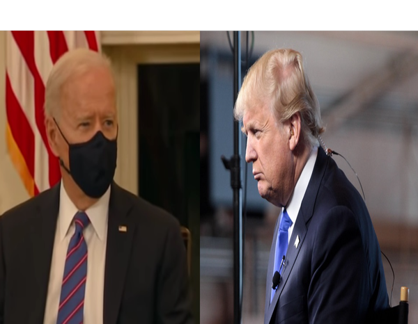 Trump Spills What He Wrote In the Letter To Biden