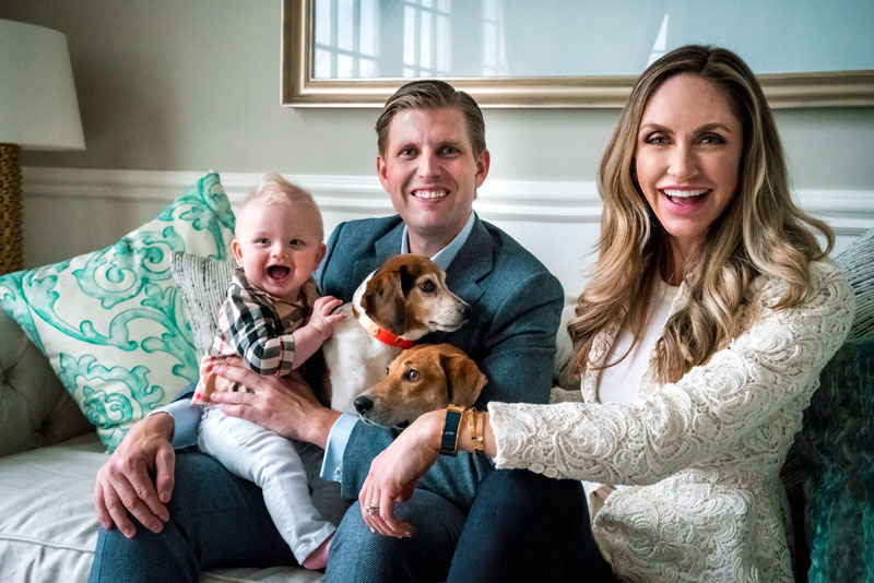 LARA TRUMP FOR SENATE: While Trump Is Helping Rescue Dogs From Being Eaten In China, The Bidens Are Dogless