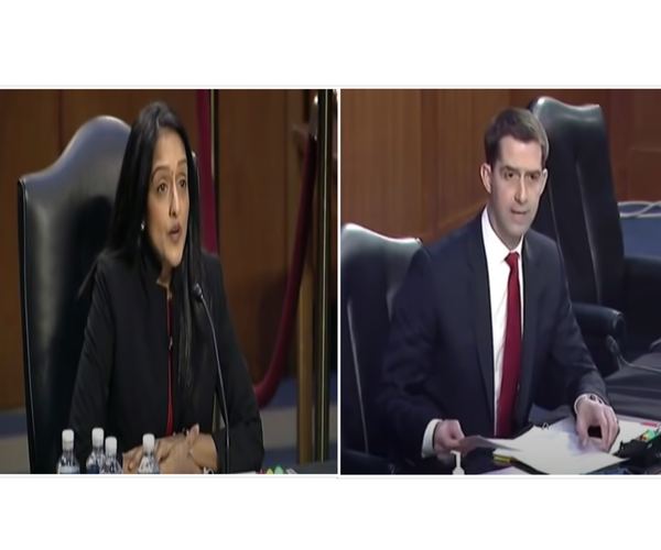 Tom Cotton Rips Biden Nominee Apart Using Her Own Words on Racial Bias [VIDEO]