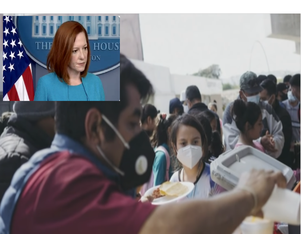 Psaki Gaslighting America Saying Overwhemling Border Chaos is 'Not a Crisis' but a 'Circumstance'