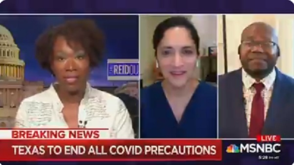 Joy Reid Accuses Republican States Of Deciding Blacks Will Die From COVID in Another Racist Rant [VIDEO]