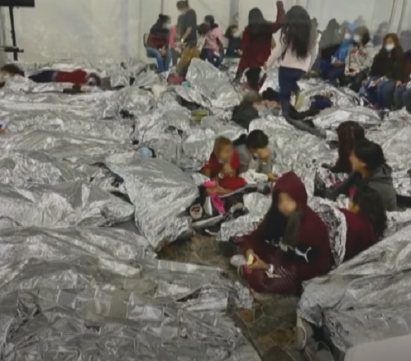 Texas Democrat Congressman Leaks Photo Showing Conditions At Migrant Facilities On The Border [VIDEO]
